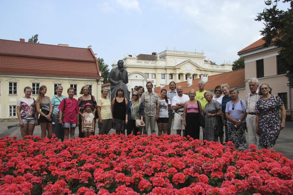 EGSi suveekskursioonist Leetu (28-31 juuli 2014) osavõtjad. Foto: Heidi Tooming